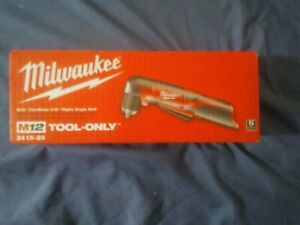 Milwaukee 2415 20 M12 3 8 inch Cordless Right Angle Drill driver tool Only