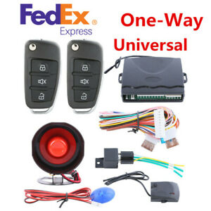 Arm Lock Car Antitheft Device Central Door Keyless Entry Remote Alarm System Kit
