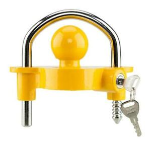 Hitch Lock Universal Coupler Hitch Trailer Lock Fits 1 7 8 2 And 2 5 16 Hd