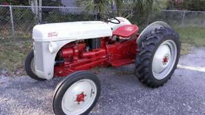 1951 8n Ford Tractor Restored