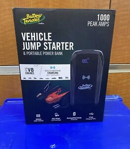 Battery Tender 1000 Peaks Amps Vehicle Jump Starter Portable Power Bank