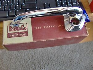 1950 50 1951 51 Ford Custom Deluxe Nos Drivers Outside Door Handle