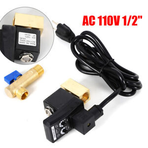 Ac110v Auto Electronic Timed Air Tank Water Moisture Drain Valve Compressor Us