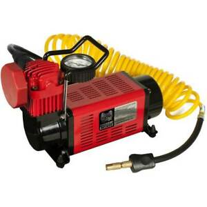 Masterflow 12v Heavy Duty Air Compressor Inflator 4x4 Truck Suv And Rv Tires