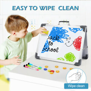 Desktop Double Sided Dry Erase Board White Message Board With Stand Us For Home