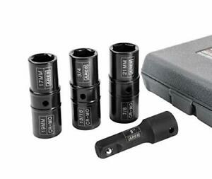 Ares 70056 1 2 Inch Drive 4 Piece Flip Lug Nut Socket Set