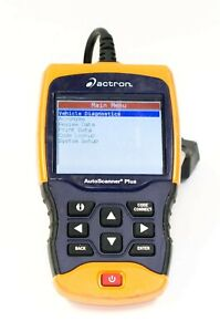 Ma4 Actron Cp9680 Autoscanner Plus Obd Ii Scan Tool