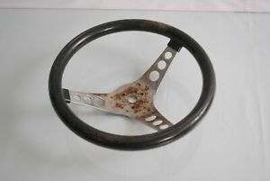 Vintage Superior Performance Products the 500 Steering Wheel 12 Black
