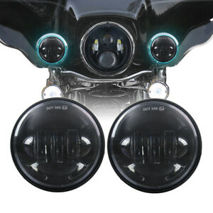 4 5 Inch Motorcycle Led Fog Light Auxiliary Driving Lamp Spot Driving Light