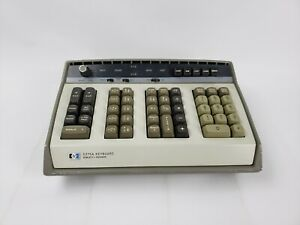Hewlett Packard Hp5375a Keyboard Used With Hp5360a Computing Counter