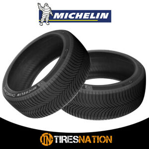 2 New Michelin Cross Climate Plus 215 60r16xl Tires