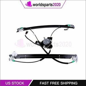 Front Driver Side Window Regulator With Motor Fits 01 03 Chrysler Town Country
