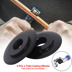 2pcs For 15mm 22mm Pipe Cutter Blade Mini Replacement Wheels Spare Tube Slice Us