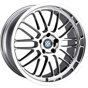 19x9 5 Chrome Wheel Beyern Mesh 5x120 15