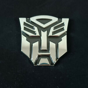 9 5cm The Transformers Car Emblem Metal Badge Sticker Fit For Cruze Opel