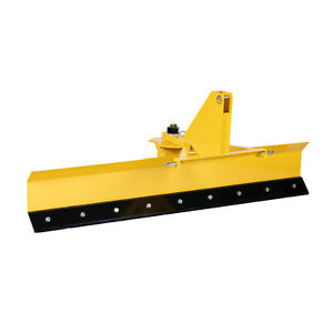 Titan Attachments 7 Ft Rear Blade For Grading And Scraping With Manual Rotation