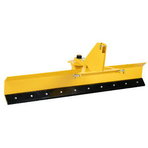 Titan Attachments 8 Ft Rear Blade For Grading And Scraping With Manual Rotation