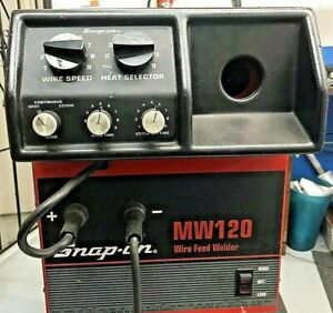 Snap on Model Mw 120 Wire Feed Welder Used