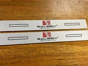 2005 2006 2007 2008 2009 Ford Mustang Saleen S281 Sr H302 Door Sill Scuff Plates