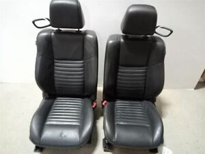11 14 Challenger Heated Leather Power Front Bucket Seats Left Right Pair 7595737