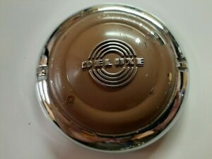 1941 Ford Deluxe Horn Button Chrome With Original Paint