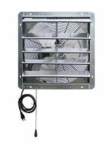 Ilg8sf18v t Wall mount Shutter Exhaust Fan 18 Variable Silver