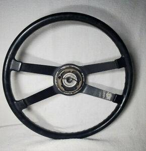Vintage Vw Volkswagon Beetle 4 Spoke Steering Wheel