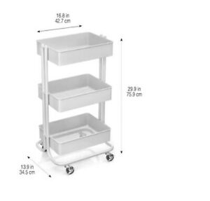 Lexington 3 tier Rolling Cart By Recollections