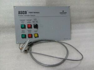 Asco 7000 Series Power Transfer Switch