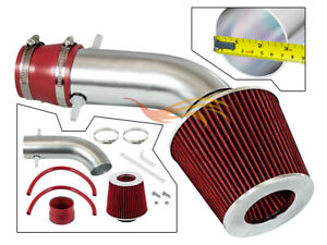 Racing Air Intake Kit Red Dry Filter For 2001 2003 Acura Cl Tl Type S 3 2l
