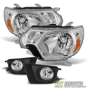 For 2012 2015 Toyota Tacoma Pickup Headlights bumper Fog Lights Lamps W switch