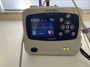 Welch Allyn Propaq Lt Monitor With Charging Cradle Patient Ready