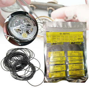 O ring Gasket Kit Diy Watches Back Case Replacement Waterproof Washer Durable