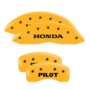 Mgp 4 Caliper Covers Yellow For 2009 2021 Honda Pilot 20213spltyl