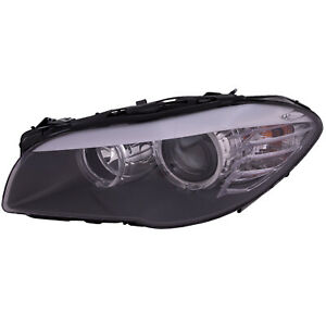 Headlight Left Without Auto Adjust Fits 2011 2013 Bmw 5 Series 528i 535i 550i