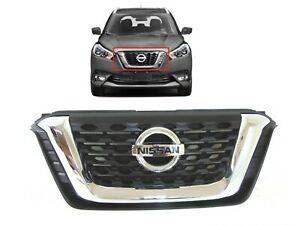 2018 2019 2020 Nissan Kicks Grille Front Bumper Upper Grille Grill Ni1200301