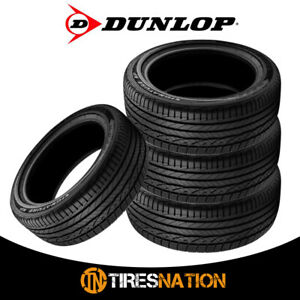 4 New Dunlop Signature Hp 205 55 16 91v All season Performance Tire