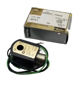 Parker Ch4c05 Solenoid Valve Coil 11 W 120 110 V 14 Available