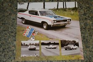 1970 Amc Rebel Machine Picture Feature Print Photo 70 390 Engine