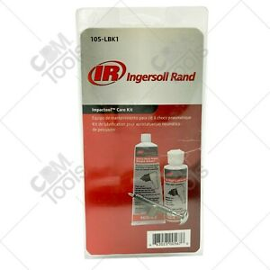 Ingersoll Rand 105 Lbk1 Impact Wrench Care Kit With Grease Lube And Grease Gun