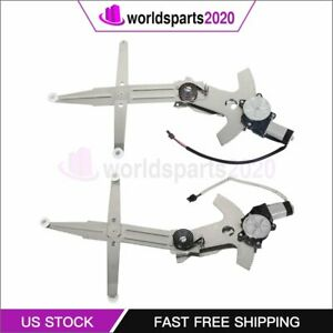 For 93 02 Chevy Camaro New Power Window Regulator Front Left Right With Motor