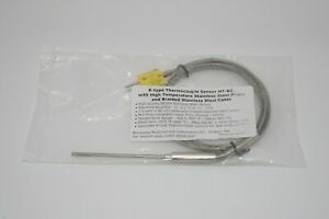 3 Inch K type Thermocouple Sensor High Temperature Stainless Steel Probe Ht 02
