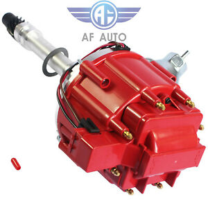 For Chevy Gm Small Block Big Block 65k High Performance Hei Distributor Red Cap