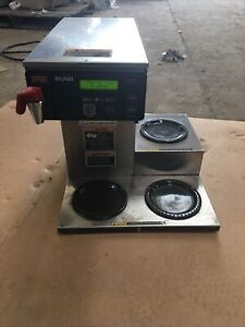 12 Cup Dual voltage Coffee Brewer With 3 Warmers Axiom Dv 3 38700 0009 Bunn