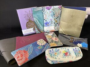 Erin Condren Planner Society Organize Book Cover Notebook Zip Pouches Floral