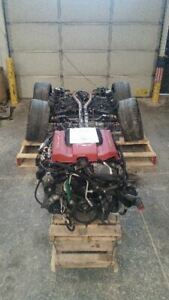 Supercharged Engine 6 2l With Transmission And Drivetrain 2013 Camaro 6804646