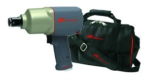 Ingersoll Rand 2155qimax 1 Drive Quiet Pistol Grip Impact Wrench Free Bag