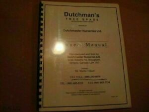 Dutchmans Tree Spade Owners Manual Rd622