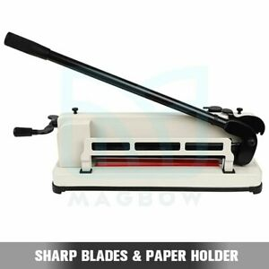 12 Inch Paper Cutter A4 b7 Guillotine Page Trimmer Blade Scrap Metal Base