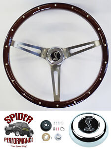 1965 1969 Mustang Steering Wheel Cobra 15 Muscle Car Mahogany